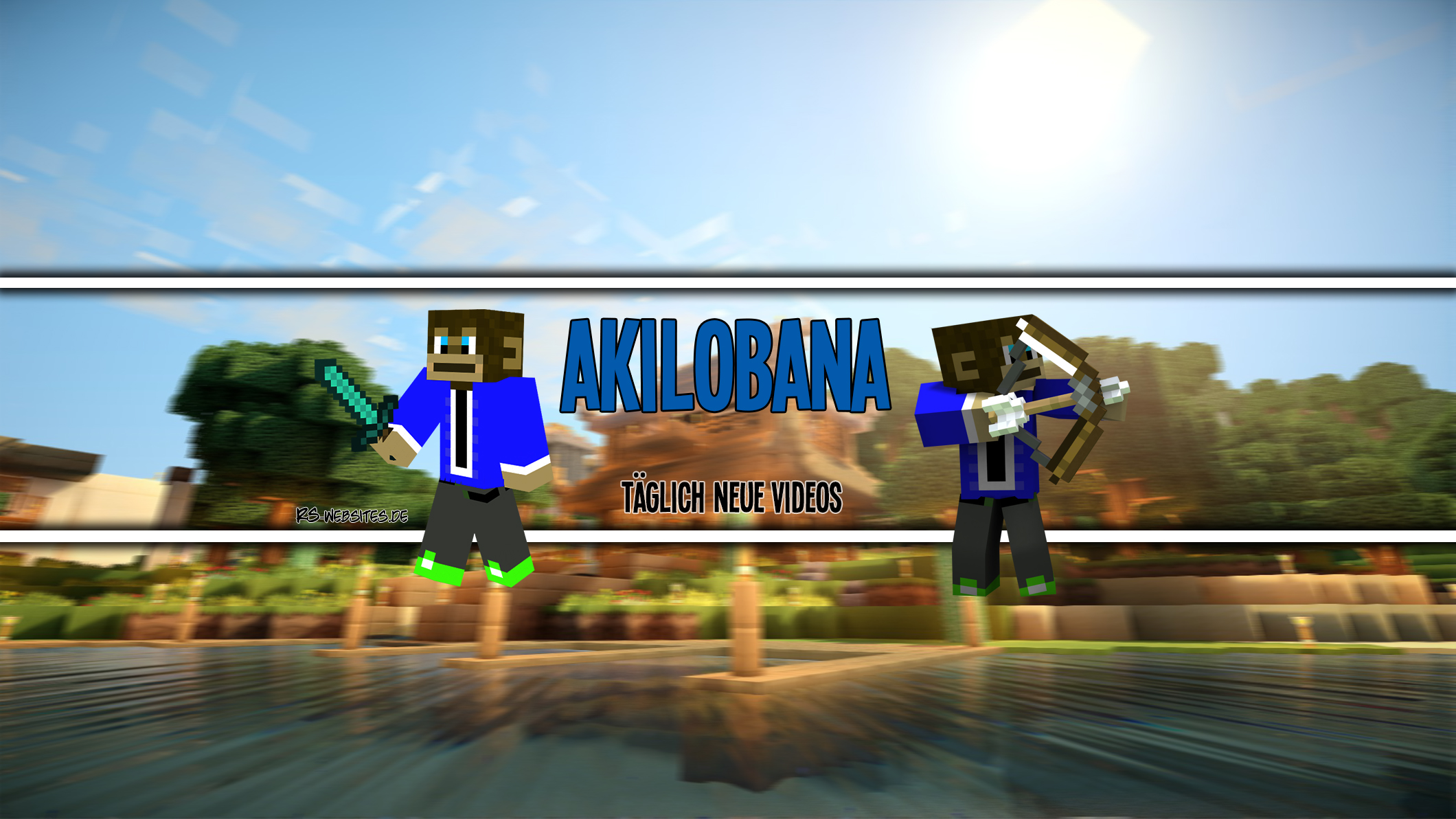 The Akilobana YouTube Banner