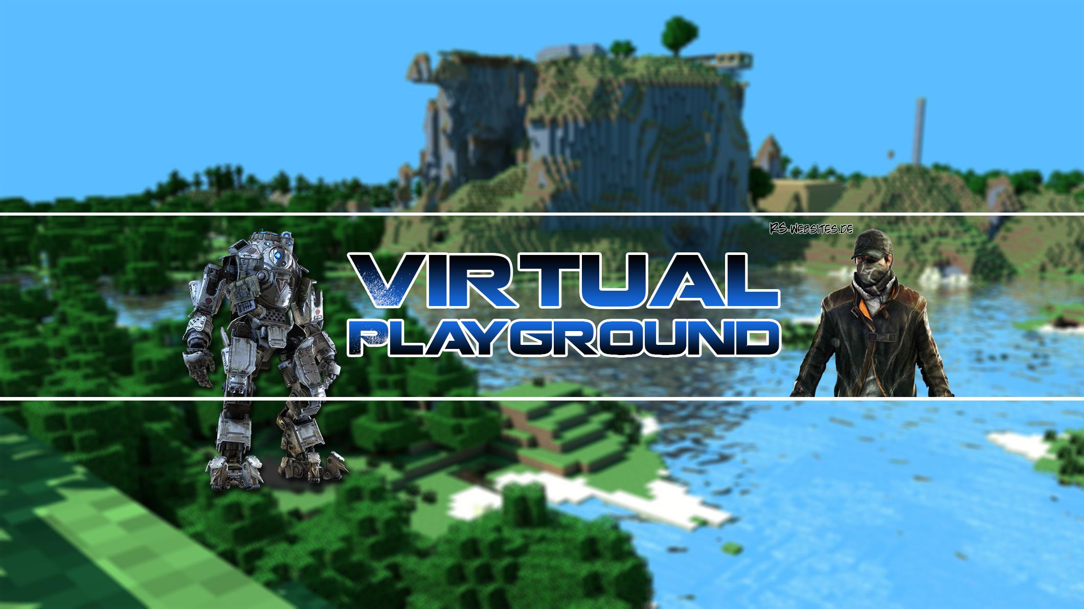 Virtual Playground YouTube Banner