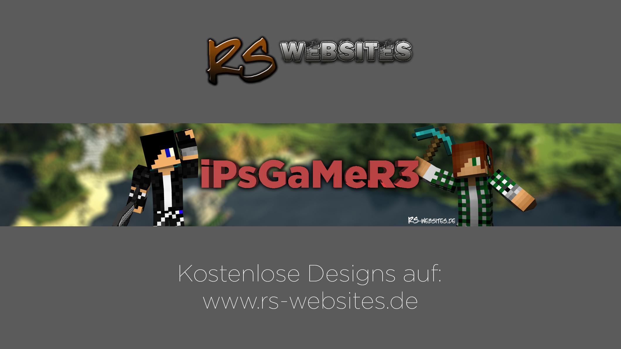 iPsGaMeR3 YouTube Banner