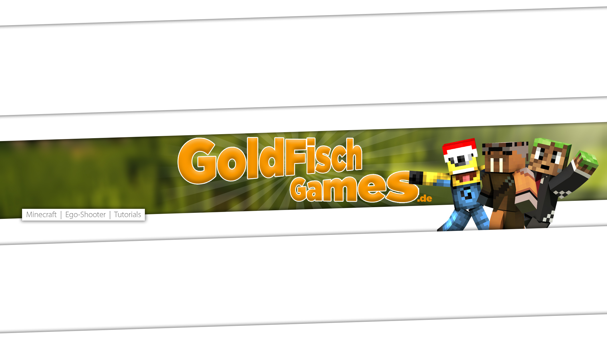 GoldFischGames YouTube Banner