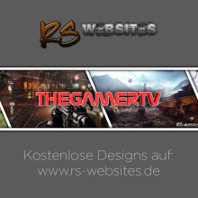 TheGamerTV YouTube Banner