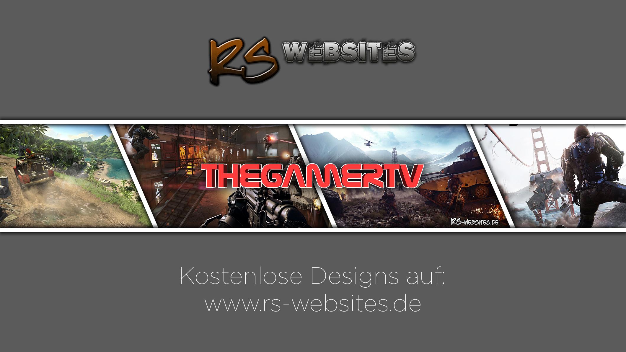 TheGamerTV YouTube Banner