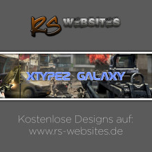 xTyPeZ GalAxy YouTube Banner