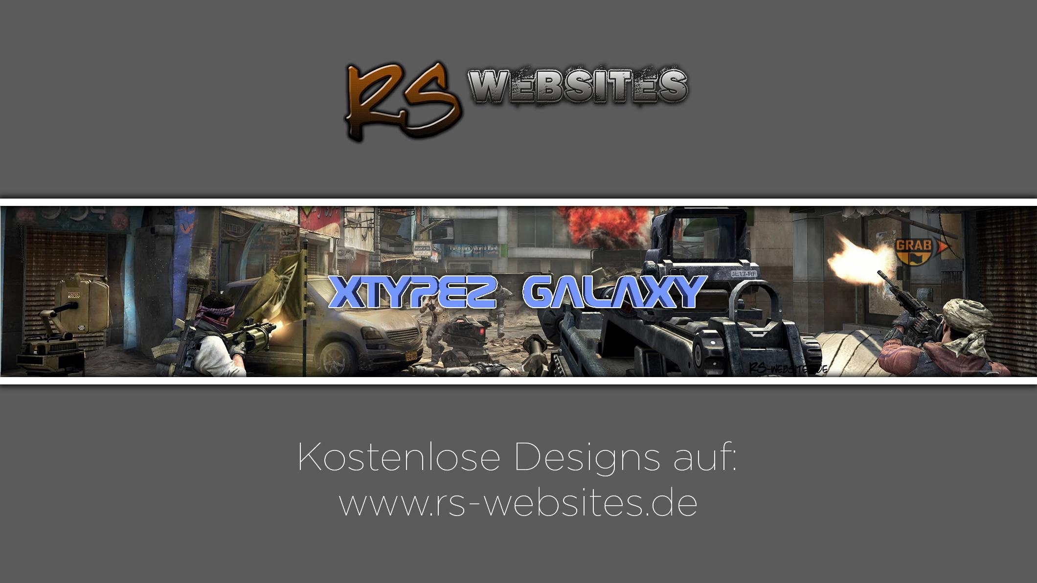 xTyPeZ GalAxy YouTube Banner
