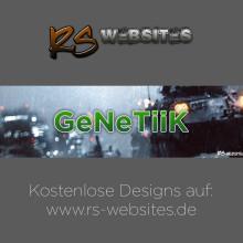 GeNeTiiK YouTube Banner