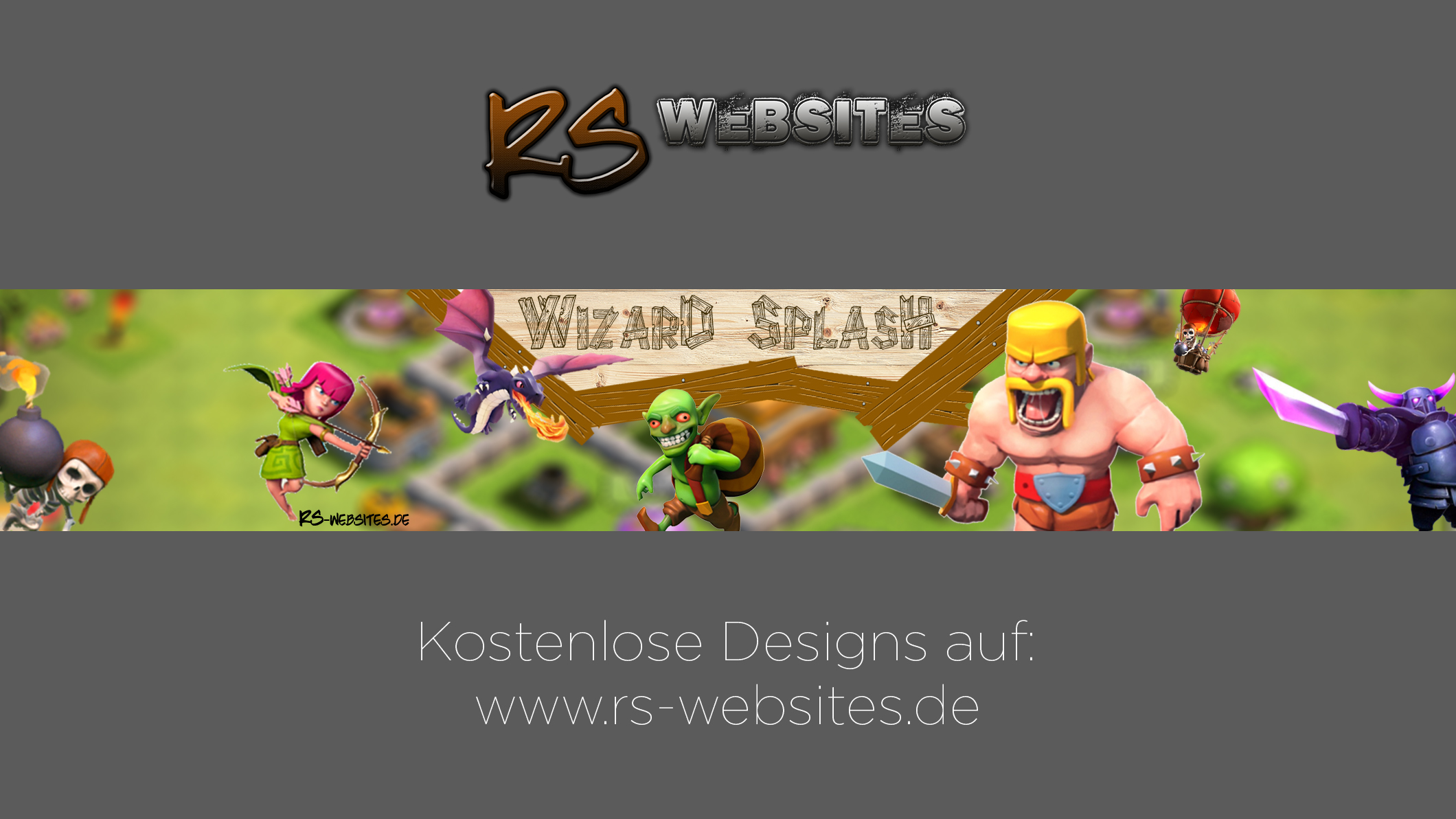 Wizard Splash YouTube Banner