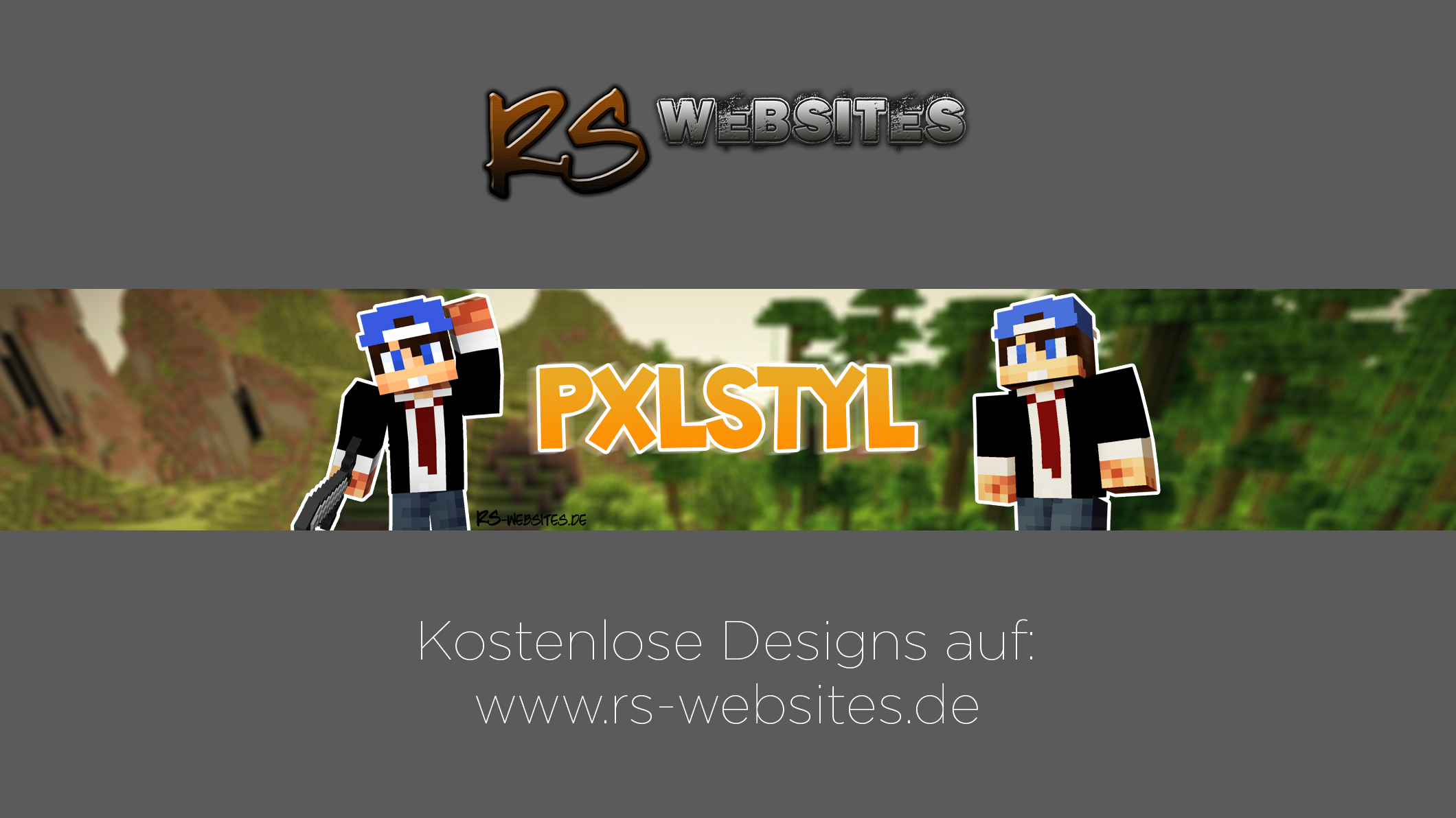 PXLSTYL YouTube Banner