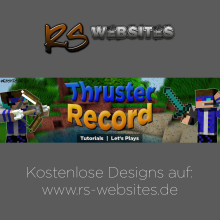 ThrusterRecord YouTube Banner