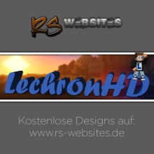 LechronHD YouTube Banner