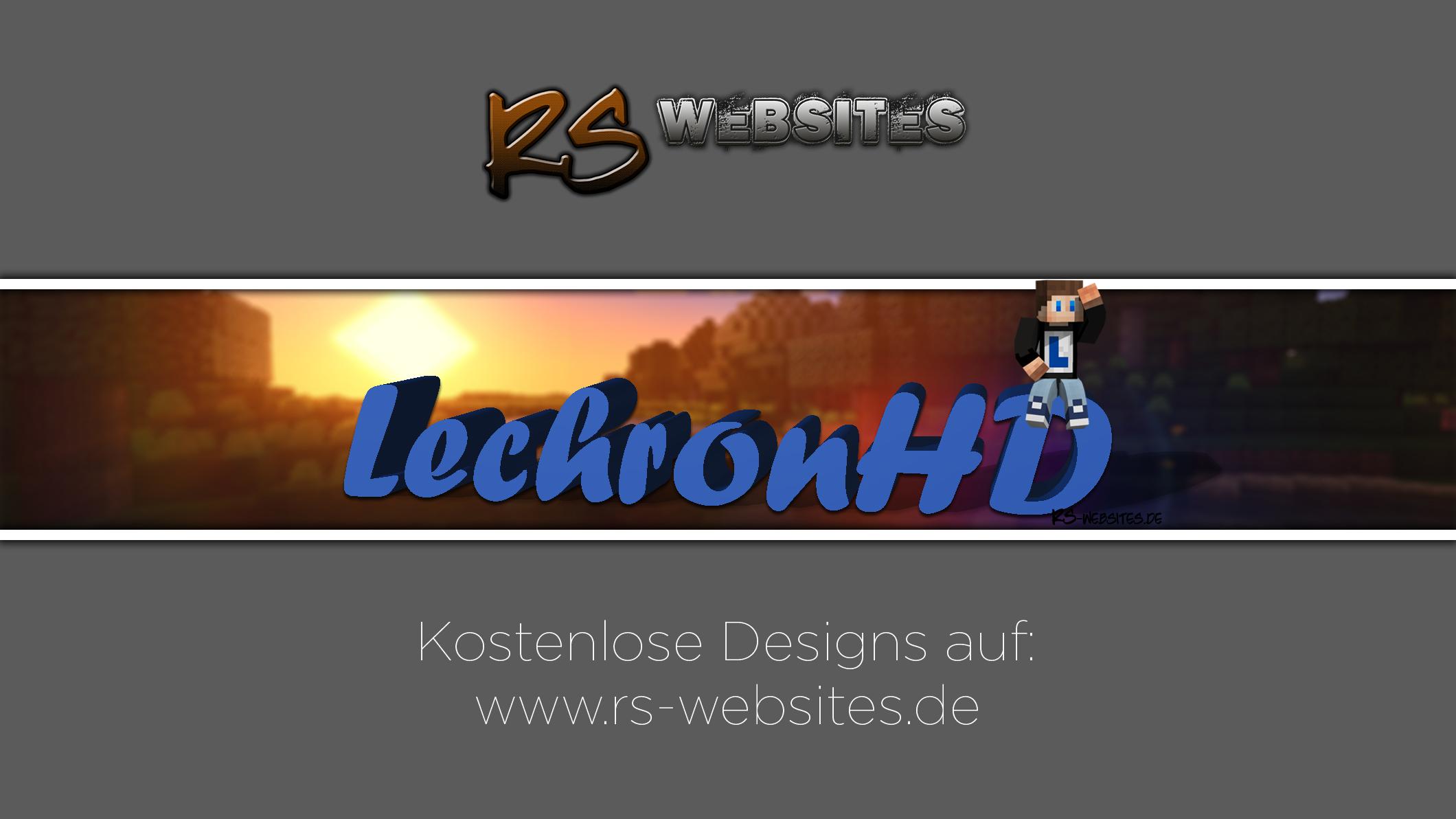 LechronHD YouTube Banner